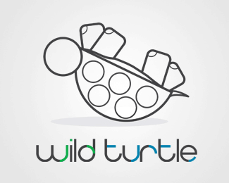 turtle logo designs 16 35+ Cool Turtle Logo Designs