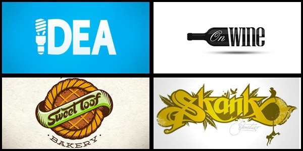 typography based logo 35+ Amazing Typography Based Logo Designs