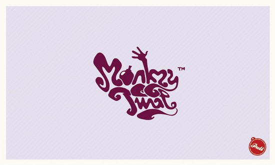 wpid 03 MonkeyTwatLogobyNeverdone 35+ Amazing Typography Based Logo Designs