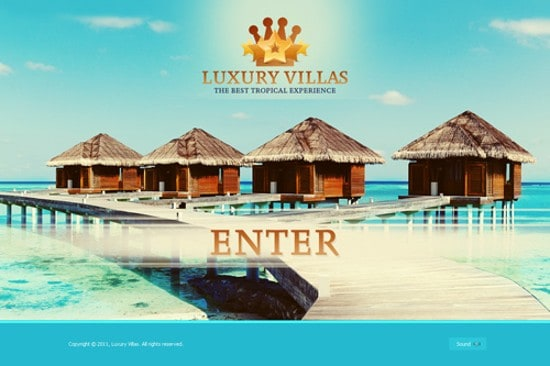 wpid 04 Luxury Villas 20 Free Flash Website Templates For Download