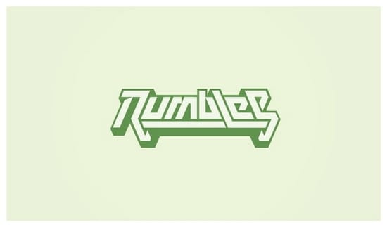 wpid 04 RumblesLogobyNeverdone 35+ Amazing Typography Based Logo Designs