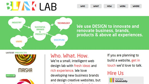 wpid 04 blink lab design agency 40 Brilliant Web Design and Portfolio Websites
