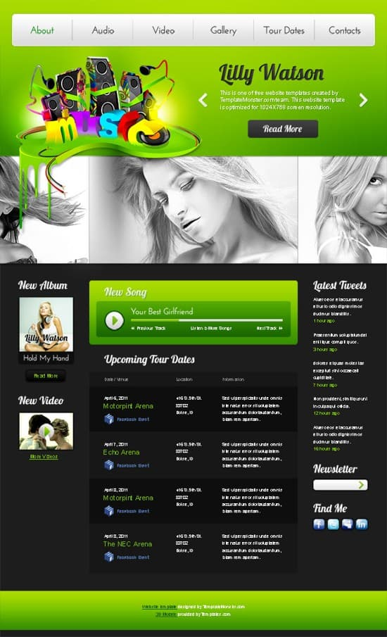 08 Free-Music-Website-Template