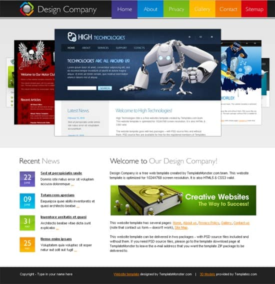 11 Free-HTML5-Design-Company-Website-Template