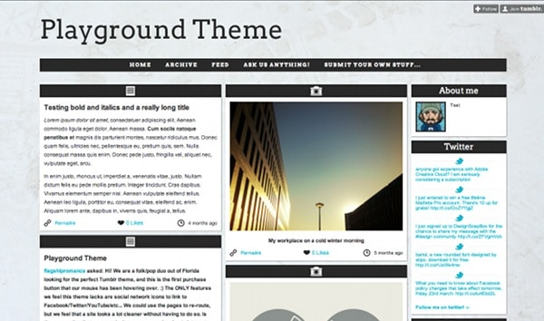 wpid 11 premium tumblr themes 45 Amazing Premium Tumblr Themes