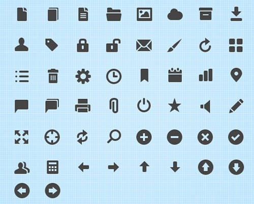 wpid 16free vector icons 25 Free Vector Icon Sets [1000+ Icons]