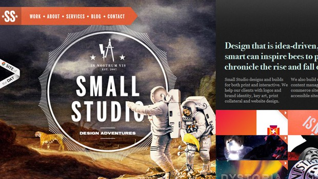 wpid 18 small studio graphics design agency 40 Brilliant Web Design and Portfolio Websites