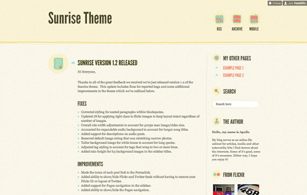 wpid 2 premium tumblr themes 45 Amazing Premium Tumblr Themes