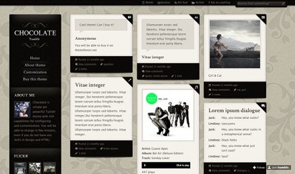 wpid 23 premium tumblr themes 45 Amazing Premium Tumblr Themes