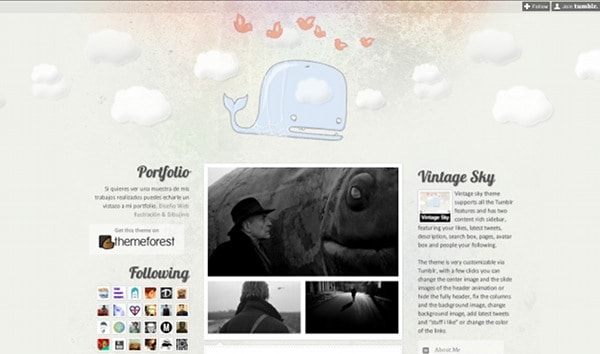 wpid 28 premium tumblr themes 45 Amazing Premium Tumblr Themes