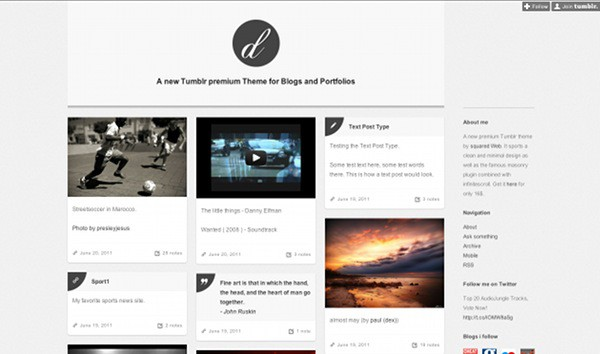 wpid 29 premium tumblr themes 45 Amazing Premium Tumblr Themes