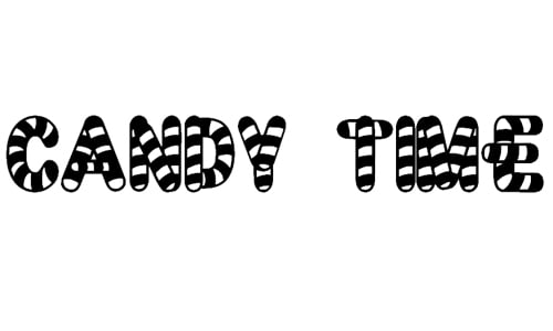 wpid 3 candytime 40+ Free Striped Fonts