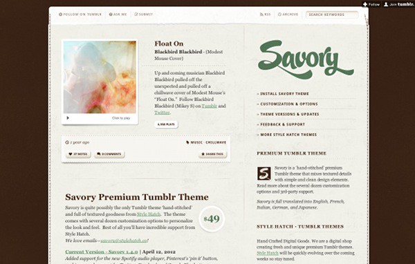 wpid 3 premium tumblr themes 45 Amazing Premium Tumblr Themes