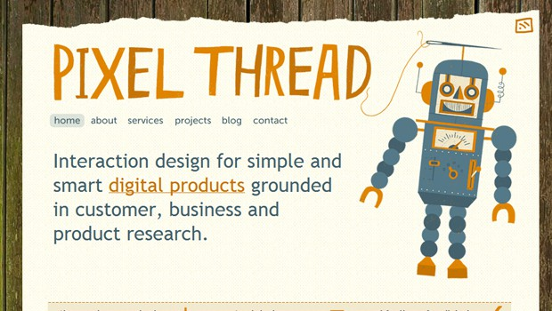 wpid 30 pixel thread webpage studio agency 40 Brilliant Web Design and Portfolio Websites