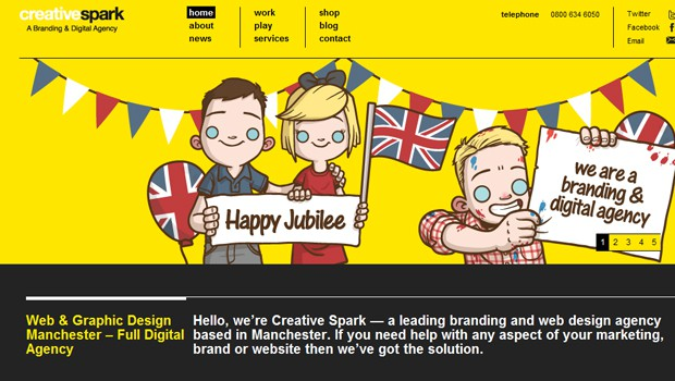 wpid 31 digital spark creative design agency 40 Brilliant Web Design and Portfolio Websites