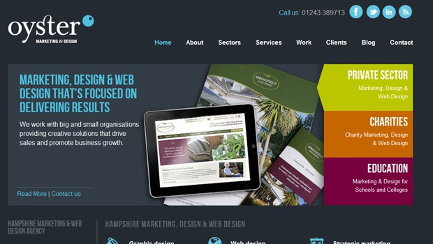 wpid 35 oyster marketing design agency website 40 Brilliant Web Design and Portfolio Websites