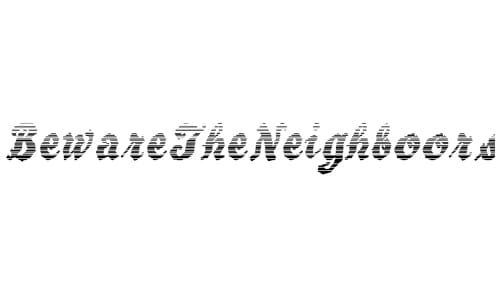 wpid 4 bewaretheneighboors 40+ Free Striped Fonts