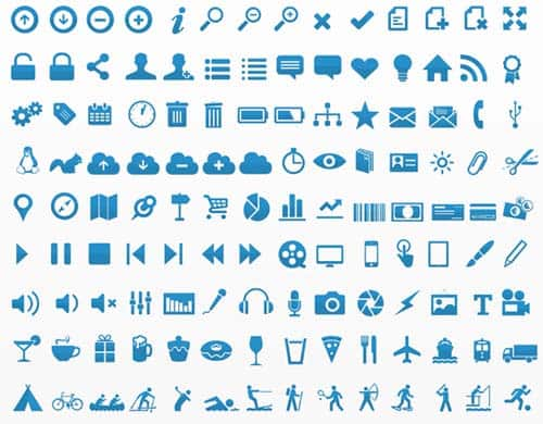 25 free vector icon sets 1000 icons
