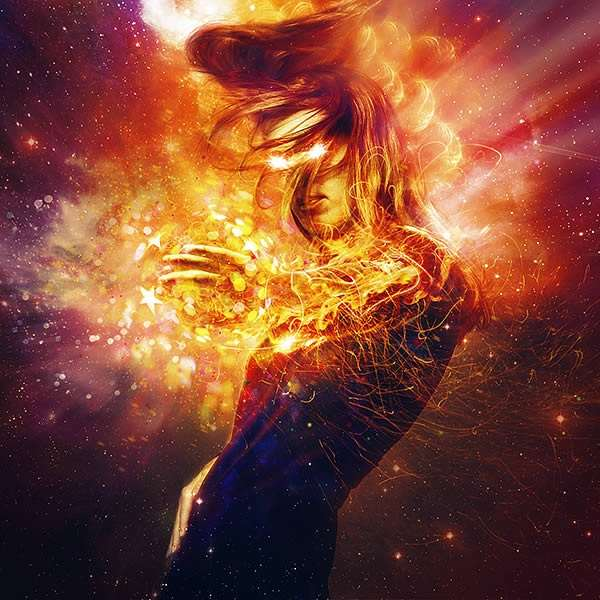 Create Cosmic Lighting Effects Using Photoshop CS6