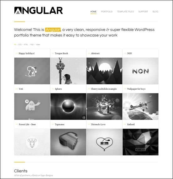 wpid angularthumb 50 Amazing WordPress Grid Themes