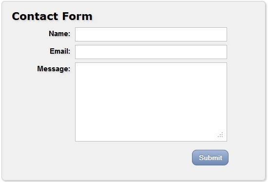 wpid contact form3thumb 30 Useful HTML5 and CSS3 Forms Tutorials