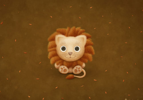 Lion Cub Wallpaper
