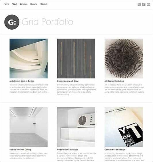 wpid grid portfoliothumb 50 Amazing WordPress Grid Themes
