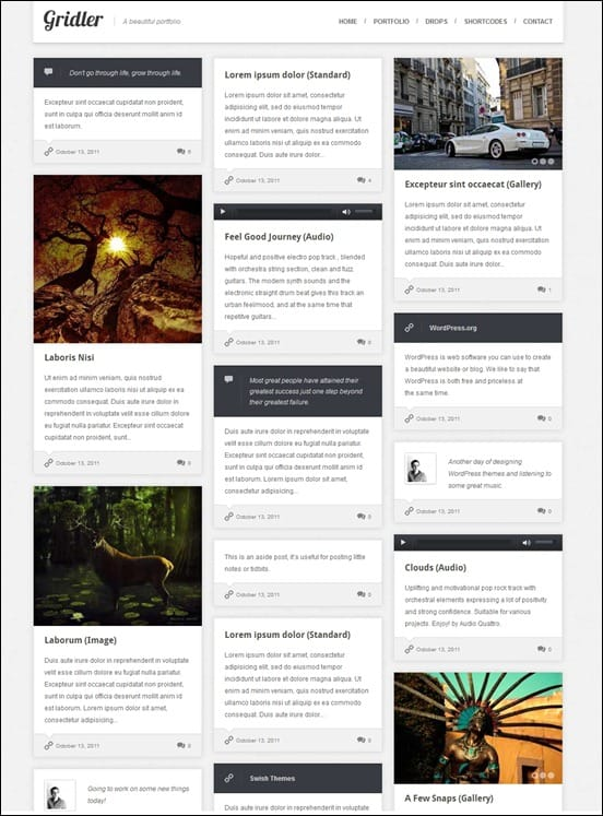 wpid gridlerthumb 50 Amazing WordPress Grid Themes