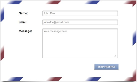wpid html5 and css3 envelope contact formthumb 30 Useful HTML5 and CSS3 Forms Tutorials