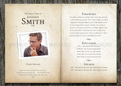 wpid modern and professional resume template examples 6 30 Modern and Professional Resume Templates