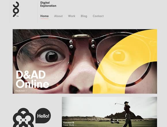 Photo Usage in Web Design