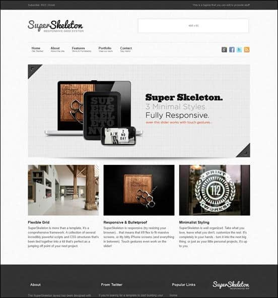 wpid super skeletonthumb 50 Amazing WordPress Grid Themes