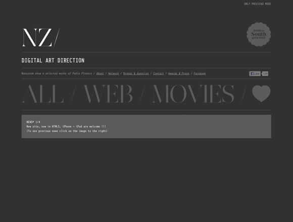 wpid type20 25 Inspiring Examples of Typography in Web Design