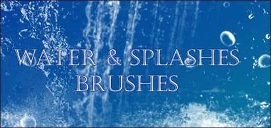 wpid water brushes samplerthumb 50+ Water Brushes and Watercolor Brush Sets for Photoshop
