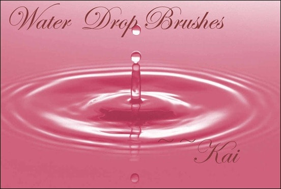 wpid water drop brushes set 2thumb 50+ Water Brushes and Watercolor Brush Sets for Photoshop
