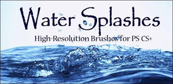 water-splashes