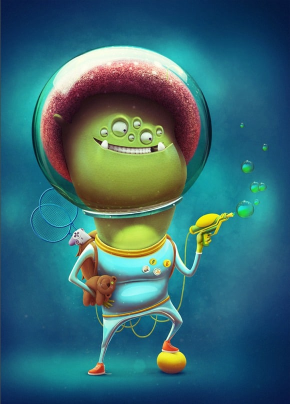 3d cartoon character 104 100+ Amazing 3D Cartoon Characters and Illustrations