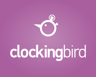 Clockingbird 40 Clock Logo Designs Inspirarion