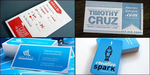 Creative Examples of Business Cards 20 Creative Examples of Business Cards