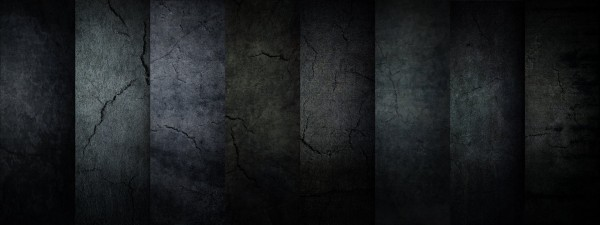 Dark City Walls 600x225 50+ Black Grunge Backgrounds and Textures