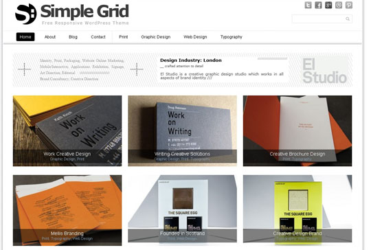 Simple Grid 45+ Free WordPress Themes 