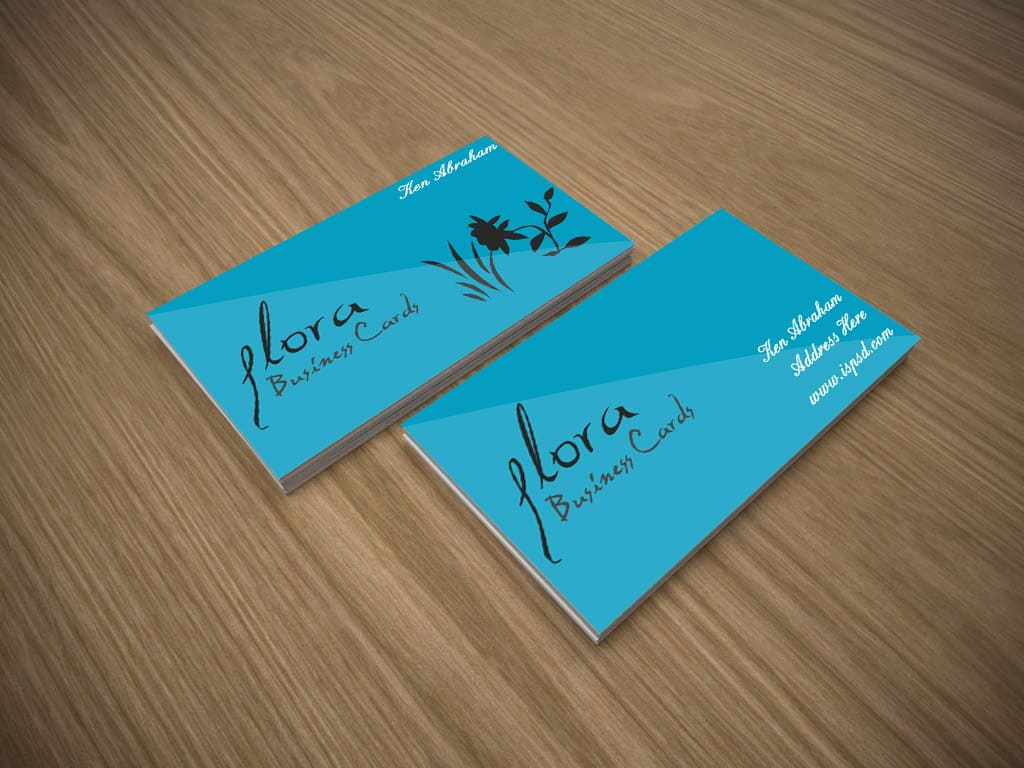 10 free business card mockups psd