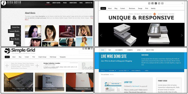 free wordpress themes 45+ Free WordPress Themes 