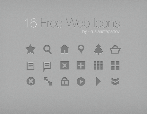 free web icons 25 Free Vector Icon Sets [1000+ Icons]