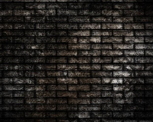 grunge brick-wall background
