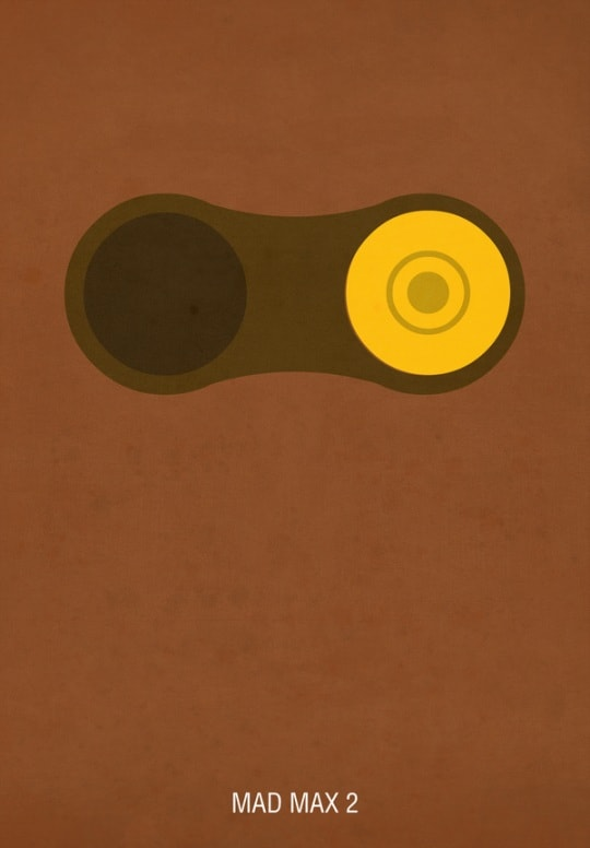 madmax 30 Minimal Poster Designs For Inspiration