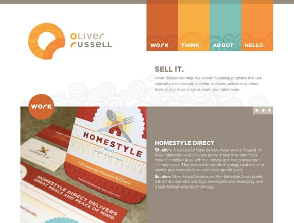oliverrussell 25 Inspiring Examples of Typography in Web Design