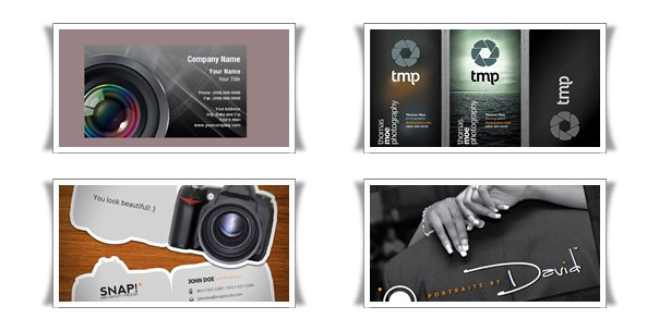photography business cards 10+ Nice Free Photography Business Cards