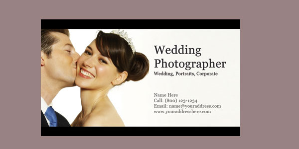 photography card 10+ Nice Free Photography Business Cards