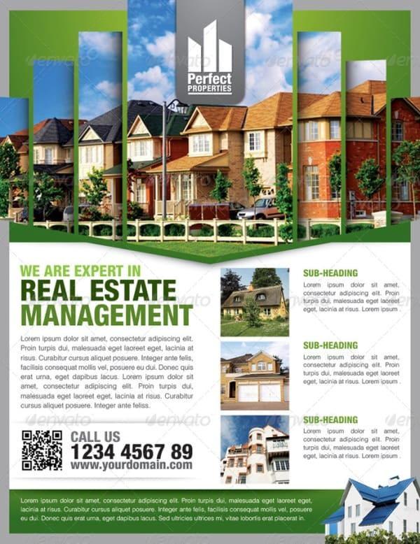 real estate flyer 2 Showcase of High Quality Real Estate Flyer Templates